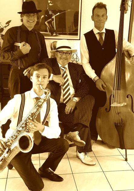 THEO DE VRIES and his SWINGBAND